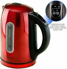 Ovente KS89 1.7L BPA Free Stainless Steel Electric Kettle Auto Shut Off No Beep photo