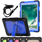 Shockproof Rugged Armor Hard Case with Strap & Stand For Apple iPad Mini 1 2 3