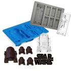 Star Wars Ice Tray Silicone Mold Ice Cube Tray Chocolate Candy Cake Baking Mould $3.85 CAD on eBay