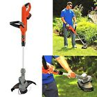 Battery Powered Cordless Trimmer/Edger Automatic Feed Spo...