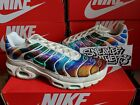 Nike Air Max Plus TN Tuned 1 Print Galaxy White Rainbow Multi Color AR1949 100