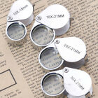 KQ_ 10x-30x 18/21mm Glass Magnifying Magnifier Jeweler Eye Jewelry Loupe Loop Gr