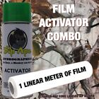 REAL WOODS TREE CAMO DIP APE ACTIVATOR FILM COMBO HYDROGRAPHIC WATER TRANSFER