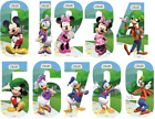 Disney Mickey Mouse Clubhouse Wheelie Bin House Number Stickers