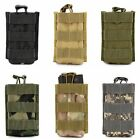 Tactical Signal Walkie-talkie Bag Open Top Rifle Pistol Mag Pouch Magazine Bag