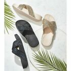 Avon Walk & Sculpt Eliza Cross-Over // Tone & Shape Legs Glitter Sandals