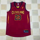 Man's NWT no.23 Cleveland Cavaliers LeBron James Red 2018 New Swingman Jersey