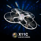 Syma X11C 2.4G 4CH RC Mini HD Camera Drone with Gyro 360 Degree Flip Quadcopter