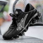 Big Size Mens Spring Blade Running Shoes Light Shock Absorb Sports Outdoor Shoes