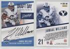 2017 Panini Prestige Draft Day Signatures #DDS-JW Jamaal Williams Auto Card