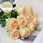 20PC Latex Moisturizing Rose Real Touch Natural Artificial Flowers Wedding Decor
