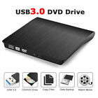 USB 3.0 /2.0 External Driver Recorder CD/DVD Burner Writer Reader for PC Laptop