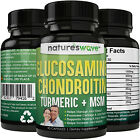 Glucosamine Chondroitin MSM, Turmeric, Boswellia - Joint Pain Relief Supplement