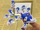9x Sonic the Hedgehog sticker wall decal t-shirt sticker clear plastic sticker