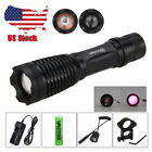 850nm 5W IR Infrared Light Zoom LED Flashlight Night Vision Rifle Hunting Torch