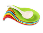 Kitchen Accessories Small Silicone Spoon Mat Spatula Style Pad Kitchen Gadgets