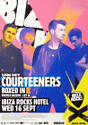 Courteeners Ibiza Rocks Hotel Closing Party Ibiza Club Poster 16 Sept