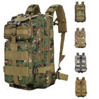 30L Neutral Military Tactical Backpack Sport Hiking Waterproof Rucksack Day Pack