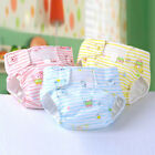Newborn Baby Adjustable Washable Reusable Cotton Nappy Cover Cloth Diaper New