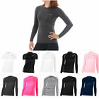 Take Five Womens Skin Tight Compression Base Layer Running Shirt S~XL 096