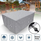 Garden Outdoor Patio Furnituee Cover Table Chiar Cube Covers Waterproof All Size