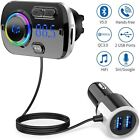 Handsfree Wireless Bluetooth FM Transmitter Car Kit Mp3 Player with USB Charger