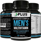 Mens Multivitamin, Highly Potent Fast Acting! Supports Optimum Health, Non-GMO on eBay