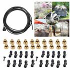 Kyпить 30FT Outdoor Misting Cooling System Garden Irrigation Water Mister Nozzles Set на еВаy.соm