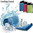Ice Cooling Towel Chilly Pad Sweat Neck Wrap For Sports/Running/Cycling/Gym/Yoga image