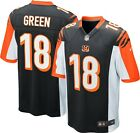 Nike AJ Green 18 On-field Cincinnati Bengals Football Jersey Mens 468948 011