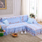 Polyester Warm Sofa Cover Couch Protector for 1 2 3 4 seater LusR Floral Blue