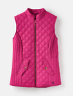 Joules Minx Womens Quilted Gilet (Z) Colour DEEP FUCHSIA PINK