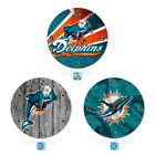 Miami Dolphins Football Wall Clock Home Room Decor Gift on eBay
