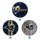 St. Louis Rams Football Wall Clock Home Room Decor Gift on eBay