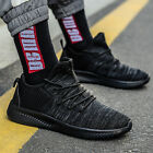 Mens Lightweight Breathable Running Knit Tennis Sneakers Casual Walking Shoes