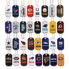 NFL LOGO DOG TAGS DOGTAG KEY CHAIN OR NECKLACE CHOOSE YOUR TEAM on eBay