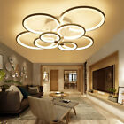 Modern Ceiling Light Led Chandelier Lighting Fixtures Home Decor Remote Control