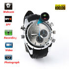 1080P Watch 8GB 32GB Waterproof SPY Wrist Hidden DVR Camera Cam Night Vision DV