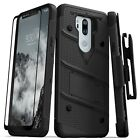 LG G7 ThinQ/G710 Case 12ft Drop Tested with Screen Protector-Zizo Bolt Series