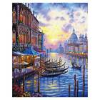 Modern ART WALL Home Decor Night in Venice oil painting HD printed on canvas