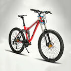 "Cool Mountain Bike Bicycle Cycling 24Speed 26"" Double Disc B"