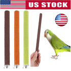 Pet Bird Parrot Bite Chew Toys Paw Grinding Stand Perches Cage Budgie Funny Toys