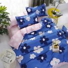 Zip Single Queen King Size Bed Set Pillowcase Quilt/Duvet Cover LusR za