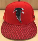 New Atlanta Falcons New Era 59FIFTY Fitted Cap Hat Official 5950 Old Logo Retro $21.99 USD on eBay
