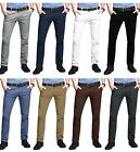 Kyпить Mens Chino Trousers Skinny Fit Stretch Casual Jeans westAce Cotton Designer Pant на еВаy.соm