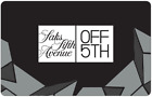 Saks Fifth Avenue OFF 5TH Gift Card $25, $50, or $100 - Email Delivery <br/> CA Only. May take 4 hours for verification to deliver.