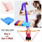5' Stretch Resistance Bands Exercise Pilates Yoga GYM Workout Physio Aerobic image