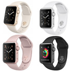 Apple Watch Series 1 38 42mm Aluminum Stainless Steel Sport Band Smart Watch