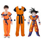 Dragon Ball Z Goku Son Gokou Turtle senRu Costume Outfits For Kids Boys Cosplay