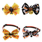 Halloween Dog Grooming Costumes - Middle Dogs Adjustable Collar with Bowtie